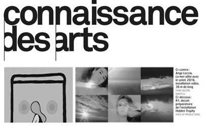01/07/16 _ Connaissance des Arts